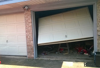 Stuck Garage Door